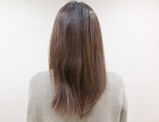 琴髪トリートメントを使った後の髪