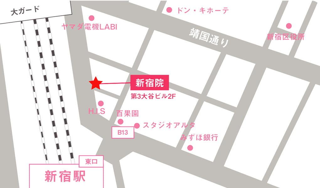 イースト駅前クリニック地図