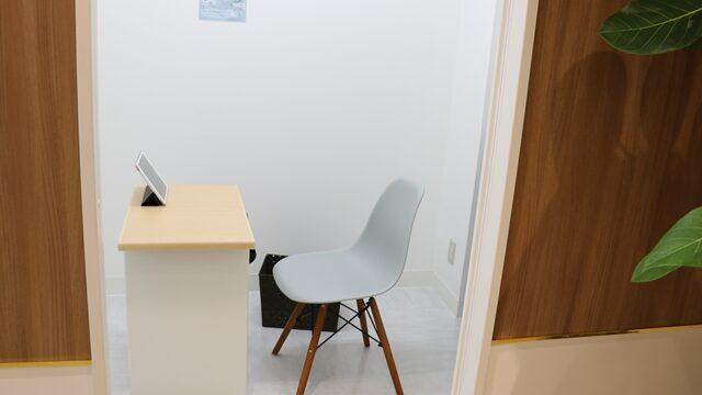 イースト駅前クリニック女性外来の診察室